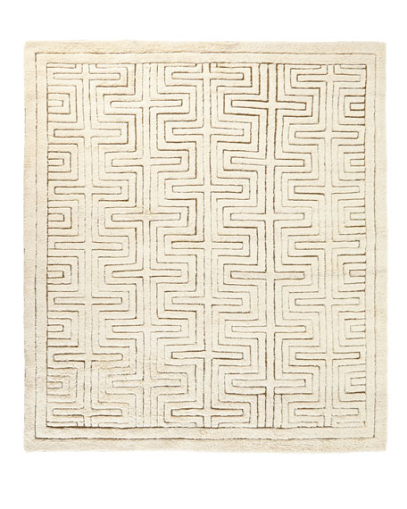 Lisbon Hand-Knotted Rug, 8' x 10'