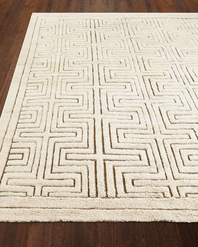 Lisbon Hand-Knotted Rug  8' x 10'