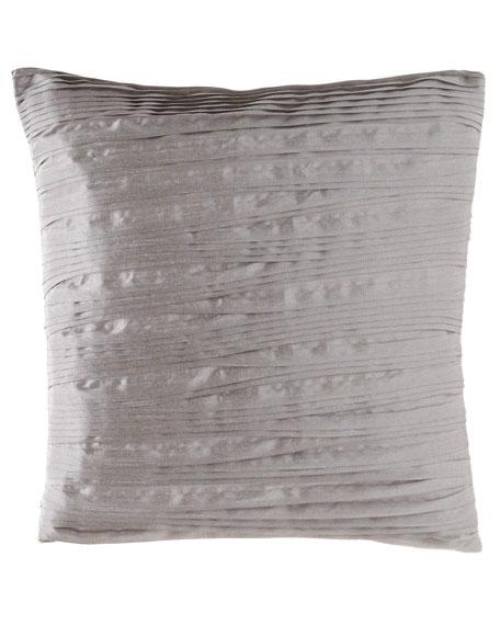 """Prestige Pleated Pillow, 18""""Sq."""