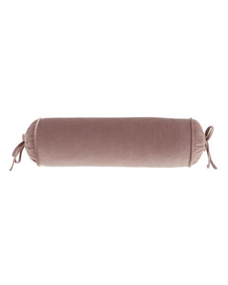 Laila Velvet Neck Roll Pillow