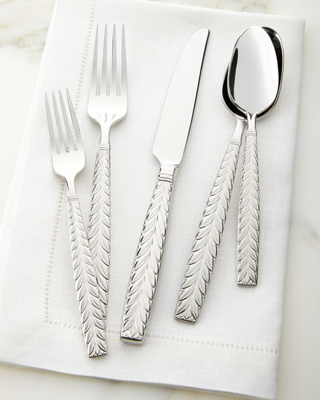 20-Piece Feather Flatware Service