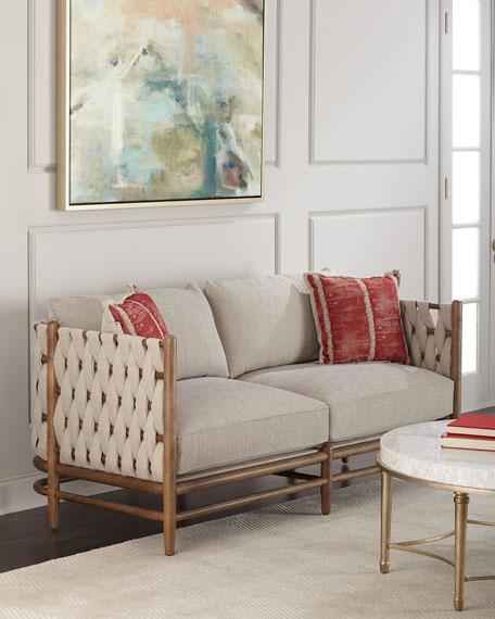 Maynard Woven Side Sofa