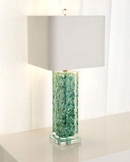 "Oceanaire Table Lamp, 33""T"