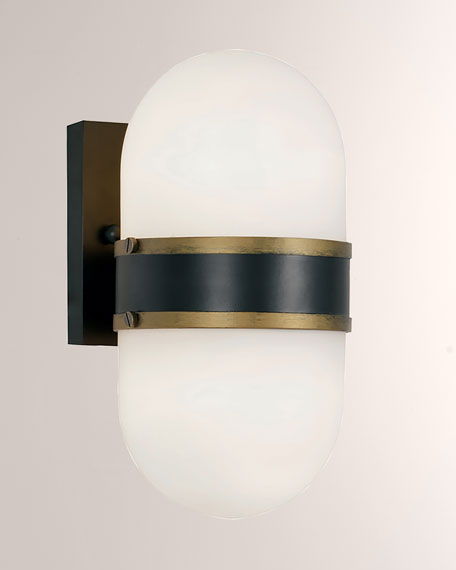 Capsule Medium 2-Light Sconce