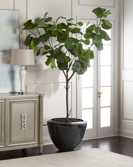 john richard collection garden fiddle leaf fig tree - Fiddle Leaf Fig Tree