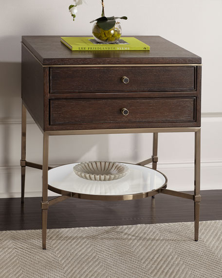 Bernhardt Clarendon Two-Drawer Night Stand