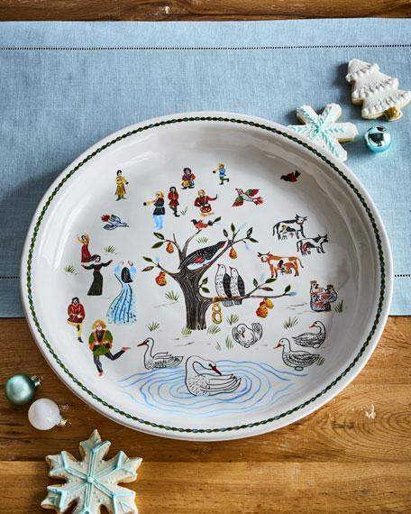 Juliska Twelve Days of Christmas Platter, 15