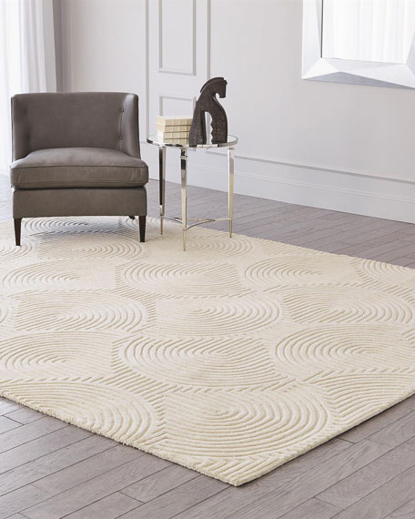 Global Views Adonis Hand-Tufted Rug, 9' x 12'