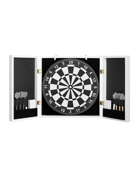 Op Art Dartboard Set