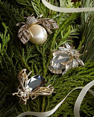 classic sparkle clip set - Holiday Value Decorative Christmas Set