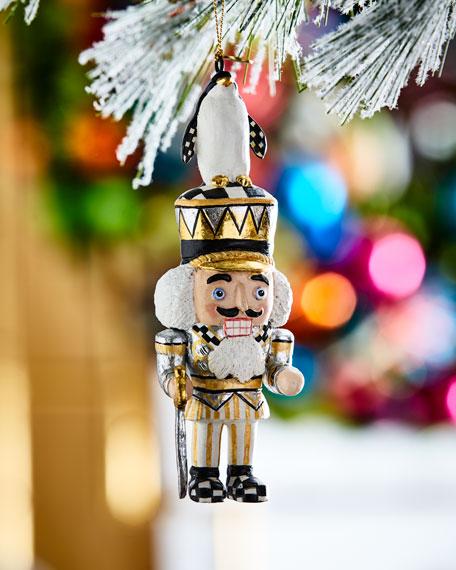 Penguin King Nutcracker Christmas Ornament