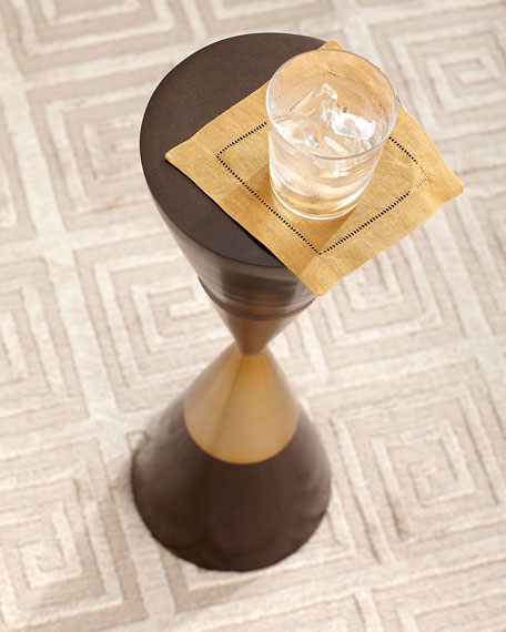 Hourglass Martini Side Table