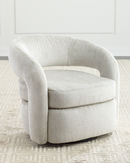 Interlude Home Targa Swivel Chair