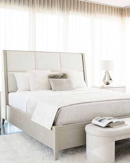 Axiom Quilted Panel King Bed