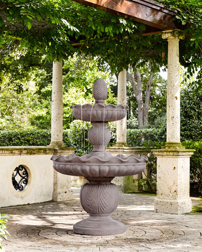 Stonecast 2-Tier Fountain