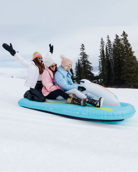 Inflatable Snowmobile Sled