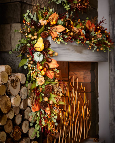 Autumn Harvest 6' Garland