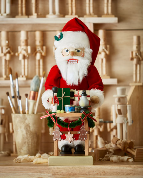 Ulbricht Gift Giver Santa Nutcracker