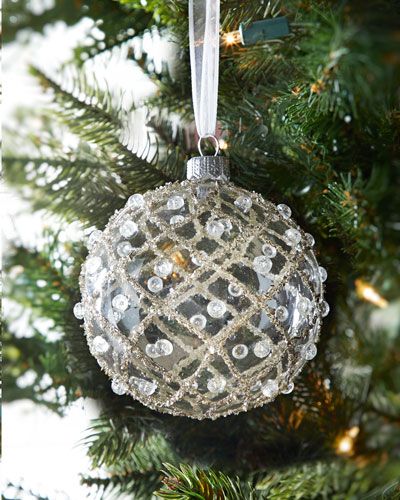 Crystal Christmas Ornaments.Christmas Ornament Collection At Horchow