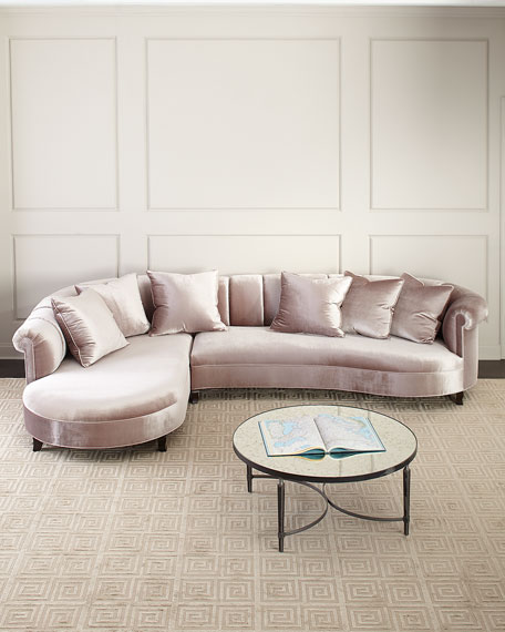 Audrey Channel Tufted Sectional