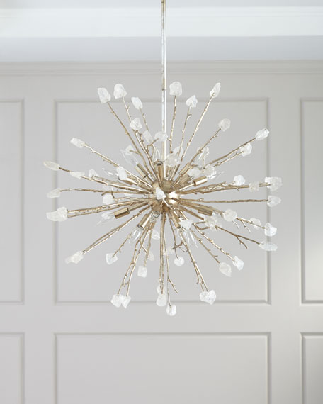 John-Richard Collection 16-Light Spherical Quartz Pendant Light