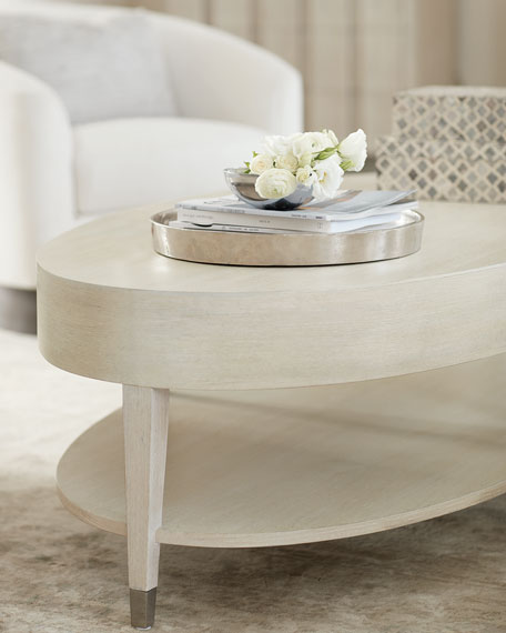 East Hampton Oval Coffee Table