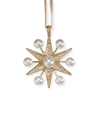 Sputnik Pearl Hanging Ornament