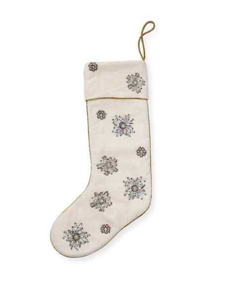 Joanna Buchanan Snowflake Stocking