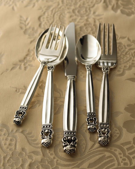 """Old Copenhagen"" 65-Piece Silver-Plated Flatware Service"