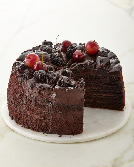 Giant Chocolate Cake, For 12 People