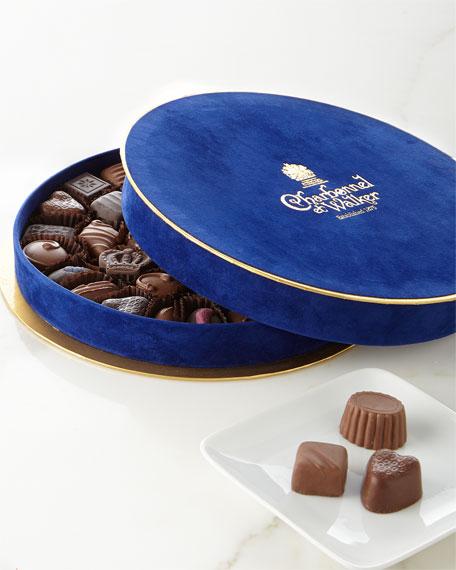 Blue Velvet Gift Box