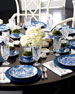 Traditional Blue & White Dinnerware