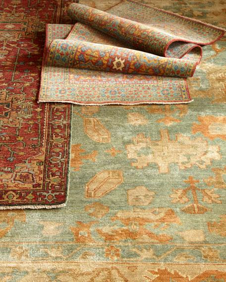Gable Colors Rug, 6' x 9'