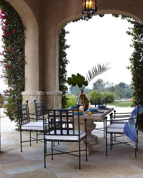 Alexandra Outdoor Table Amp Avery Dining Chair