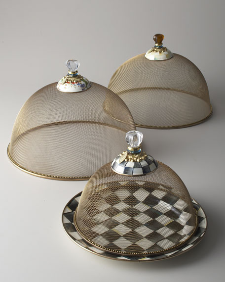 Small Courtly Check Mesh Dome