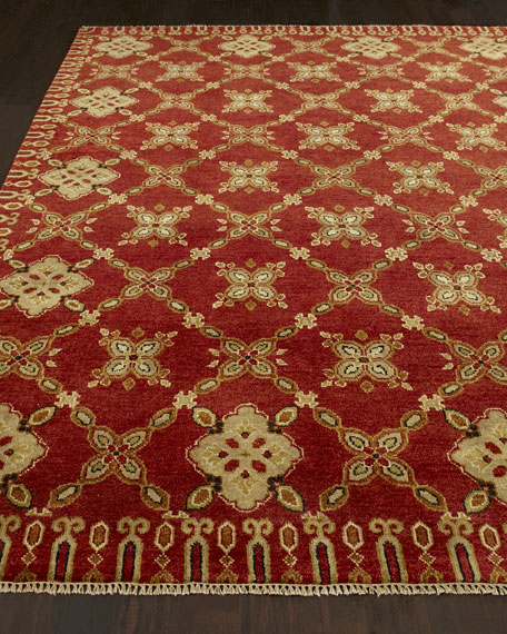 """Augustus Hand Knotted Rug, 2'6"""" x 10'"""