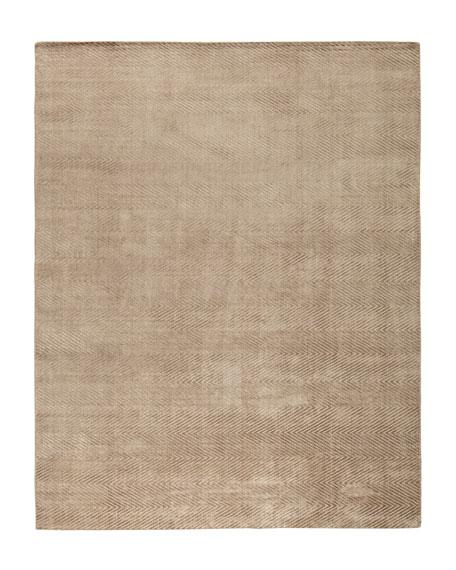 Mistie Herringbone Rug, 6' x 9'
