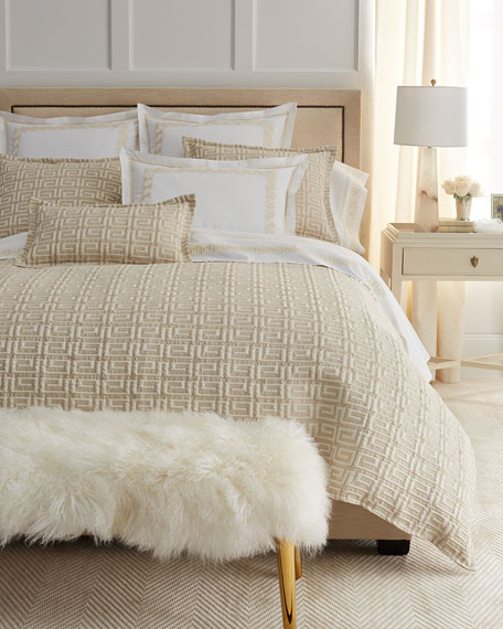 Queen Meander Coverlet