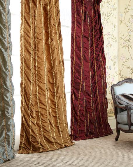 """96""""L Kelly Curtain"""