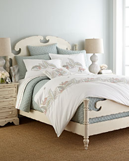 Sea Island Embroidered Bedding & 300TC Sheet Set