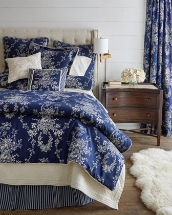 Country Toile Bedding