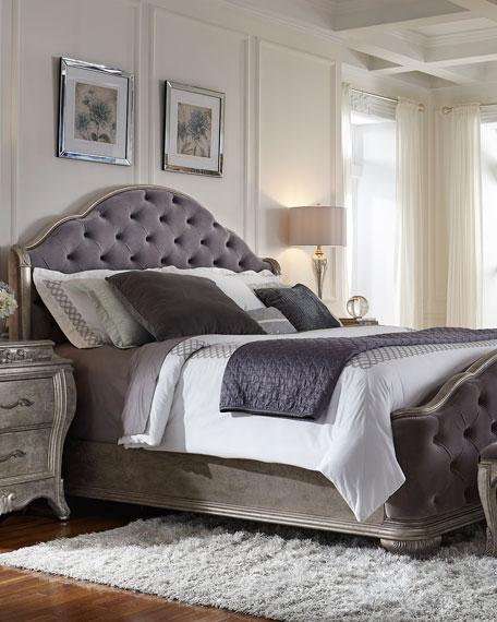 Bella Terra Tufted King Bed