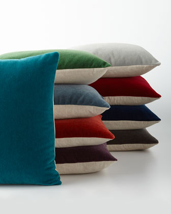 Bach Mohair Pillow Collection