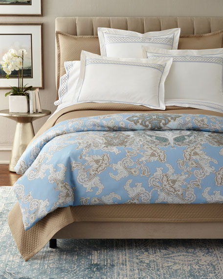 European Diamond Border Sham