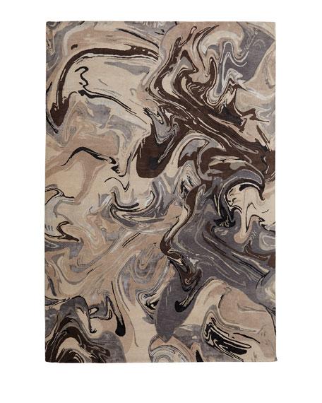 Noho Marble Rug, 9' x 12'