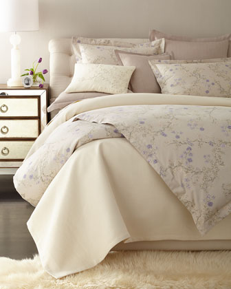 designer bed linen: duvet cover & comforter set at neiman marcus