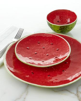 Watermelon Salad Bowl  11 Dia. and Matching Items