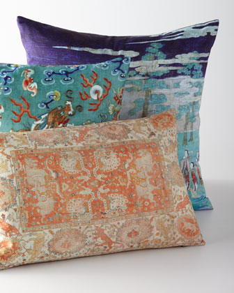 Tangerina Loop Lumbar Pillow  and Matching Items