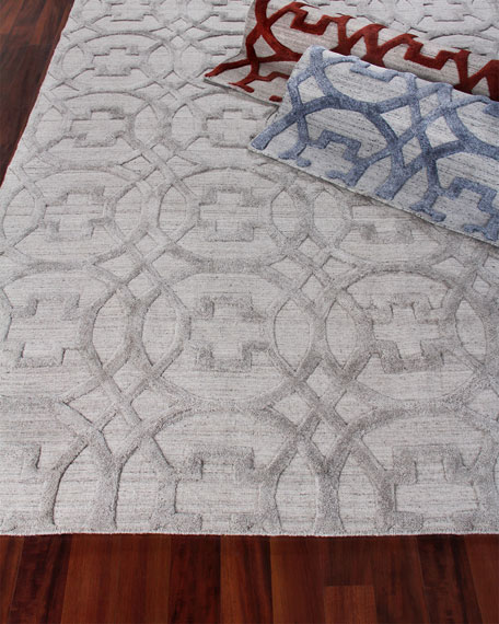 Belmar Circles Hand-Knotted Rug, 12' x 15'