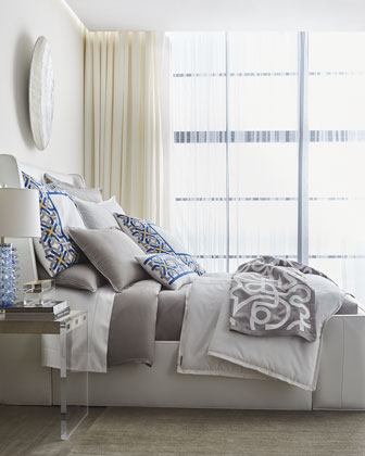 Cassandre Linen King Duvet Cover  and Matching Items